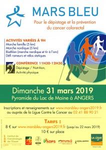 Affiche mars bleu 2019