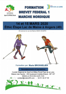 Fomation Brevet Federal 1 Marche Nordique